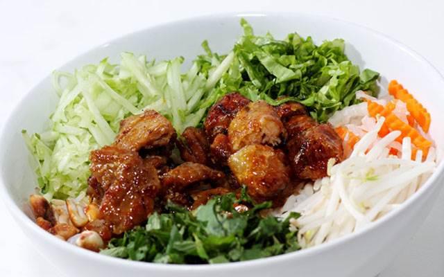 Quán Bún Thịt Nướng Ngon Ở Biên Hoà