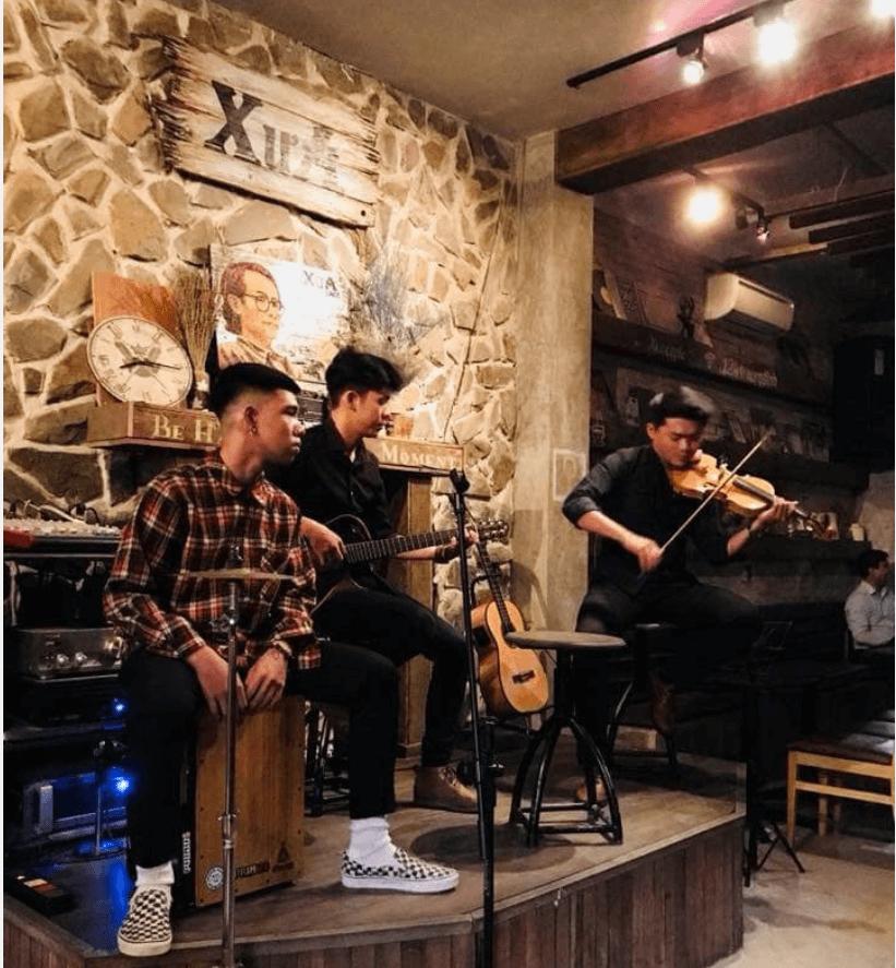 quán cà phê Acoustic ở Đồng Nai