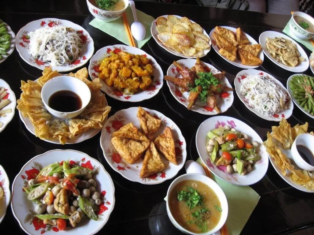 nhà hàng chay ở đồng nai