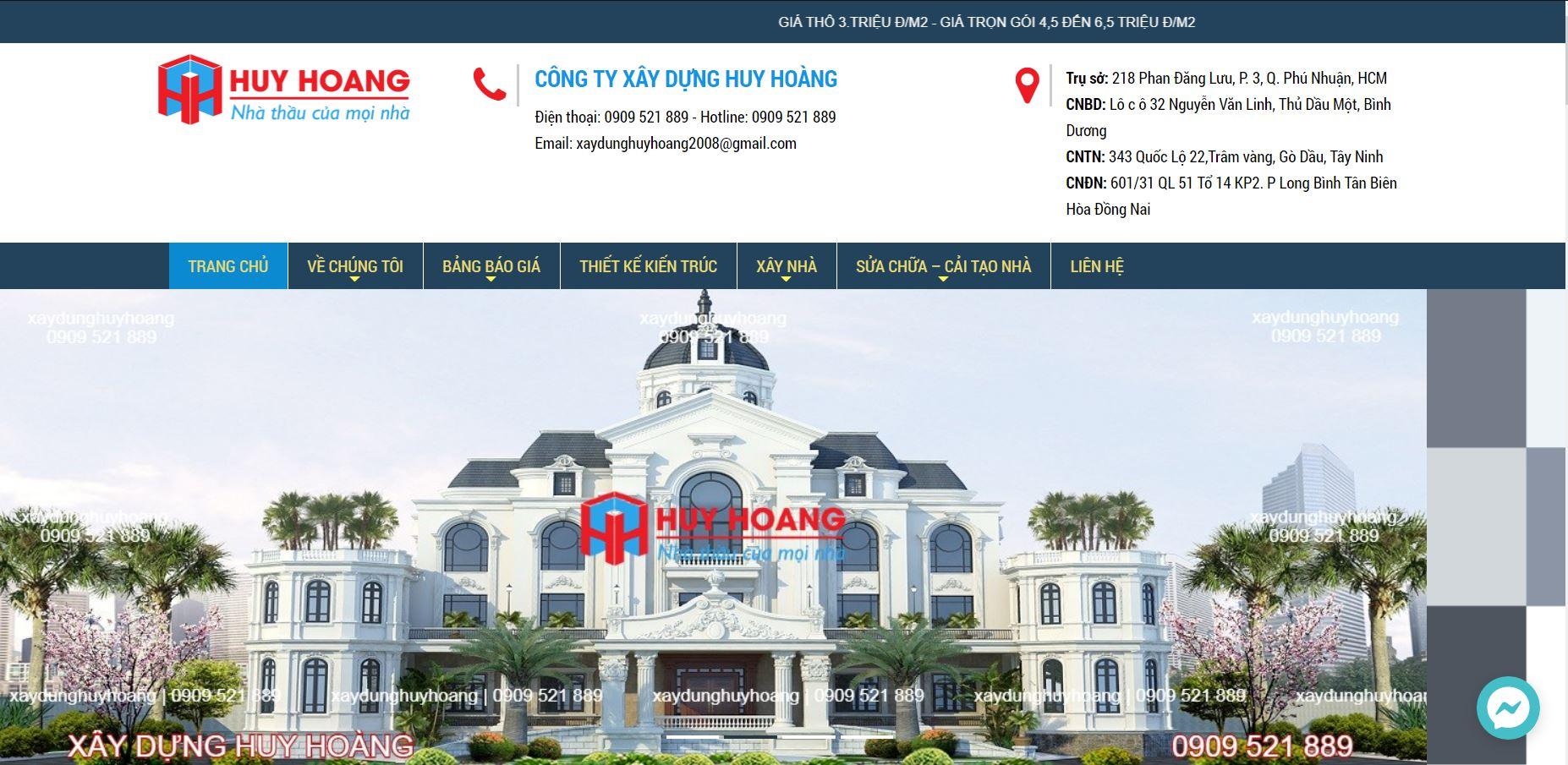 xây nhà trọn gói Biên Hòa
