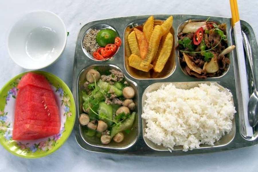 suất ăn công nghiệp Biên Hòa