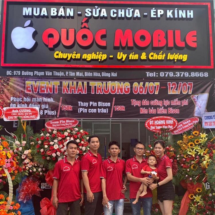 Quốc Mobile – Dịch Vụ Sửa Điện Thoại Uy Tín Biên Hòa
