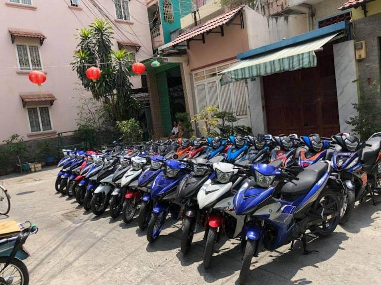 thuê xe máy tự lái Biên Hòa