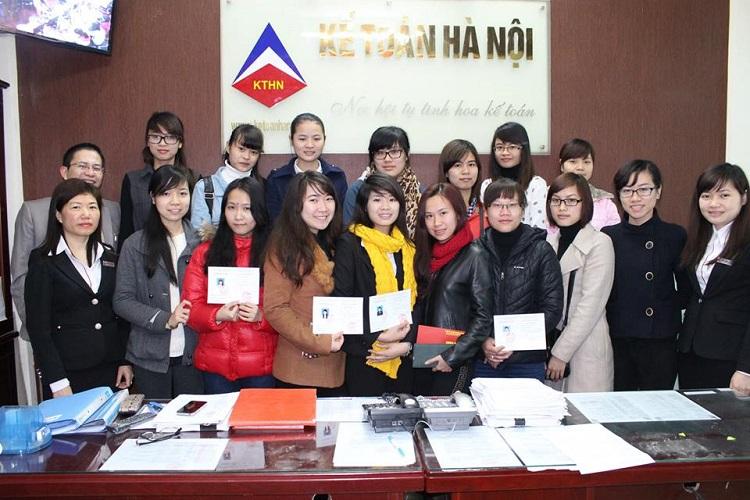 lớp học kế toán Hà Nội