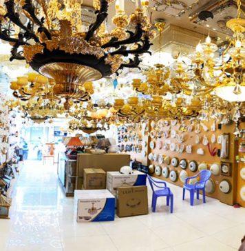 đèn trang trí tại Biên Hòa