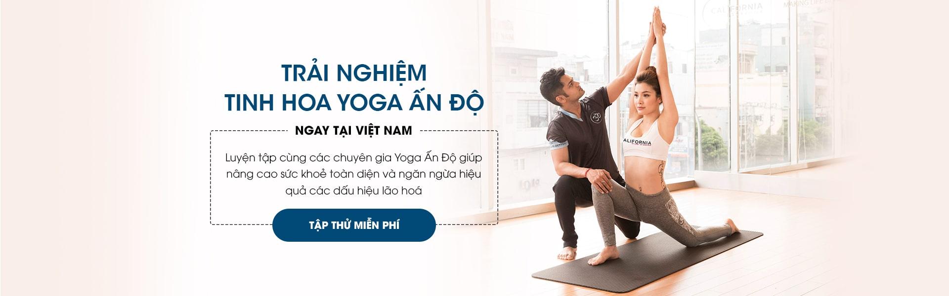 các phòng tập yoga ở biên hòa